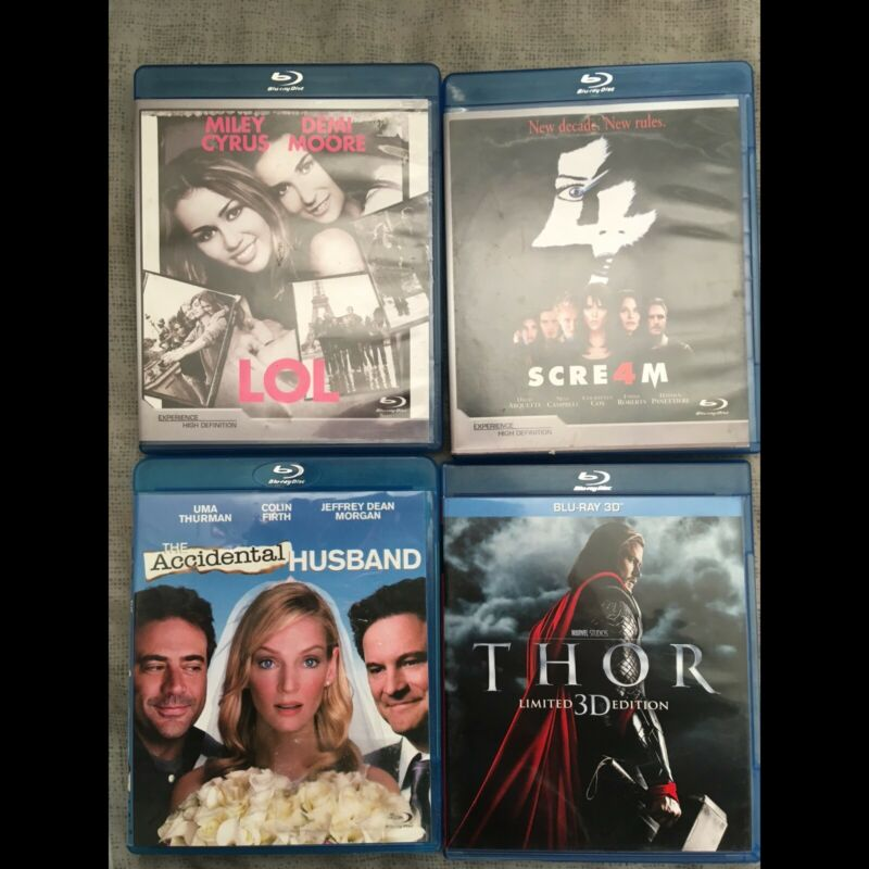 Blue ray movies for sale