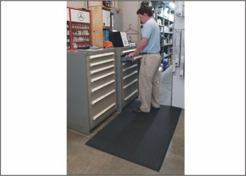 Industrial Floor Mat 2/' x 3/' Cushion Max Anti-Fatigue Kitchen