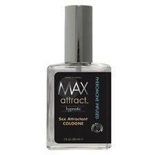 2 MAX ATTRACT HYPNOTIC sex attractant cologne pheromone infused spray max 4 men