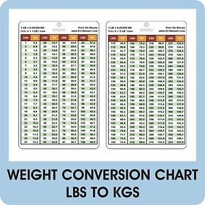 weight conversion pvc plastic card lbs to kg reference dr rpn rn lpn nurse c 29 ebay. Black Bedroom Furniture Sets. Home Design Ideas