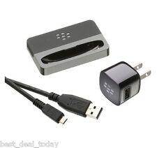 Oem Blackberry Charging Desktop Charger USB Pod Dock For Bold Touch 9930 9900