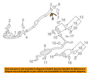subaru oem exhaust diagram wiring schematicsubaru oem 04 10 forester 2 5l  h4 exhaust converter hanger