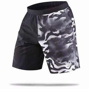 d3aed37e602d Reebok Men s Camo Speed Black Training CrossFit Shorts B46019