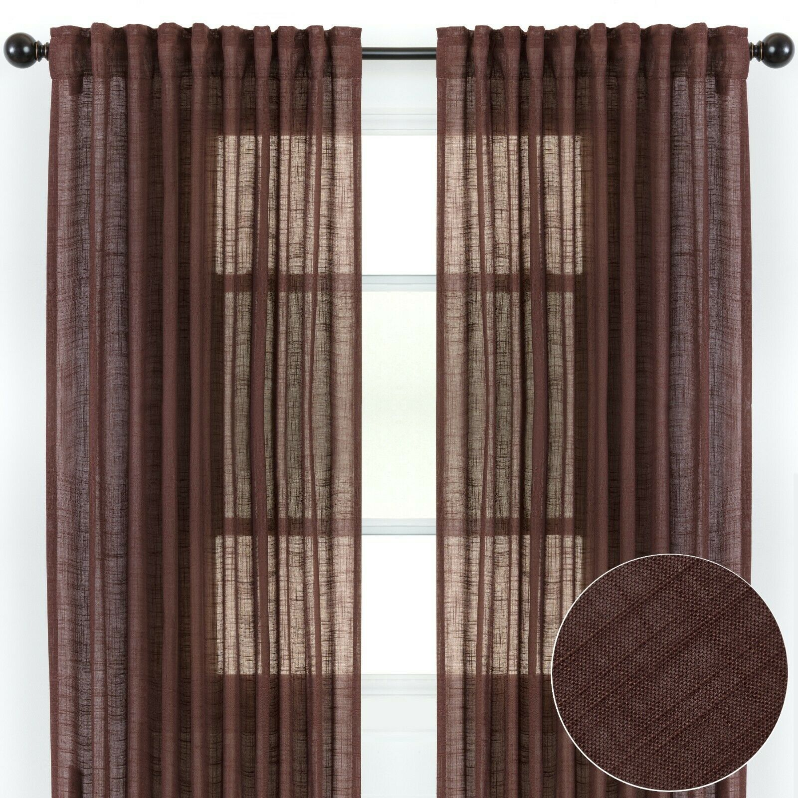 Home Decor Fmfunctex Black White Sheer Curtains For Living Room 54 Inches Long Print Semi Sheer Window Drapes For Bedroom Branch Tree Curtains For Bathroom Basement Kitchen Grommet Top Home Anztech Co Nz
