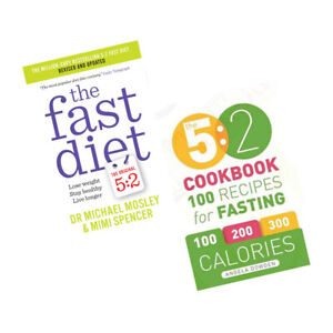 The-5-2-Cookbook-The-Fast-Diet-2-Books-Collection-Set-Paperback-BrandNew-Pack
