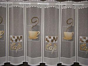 K chengardine 12 breiten scheibengardine cafe gardine for Fenster 60x90