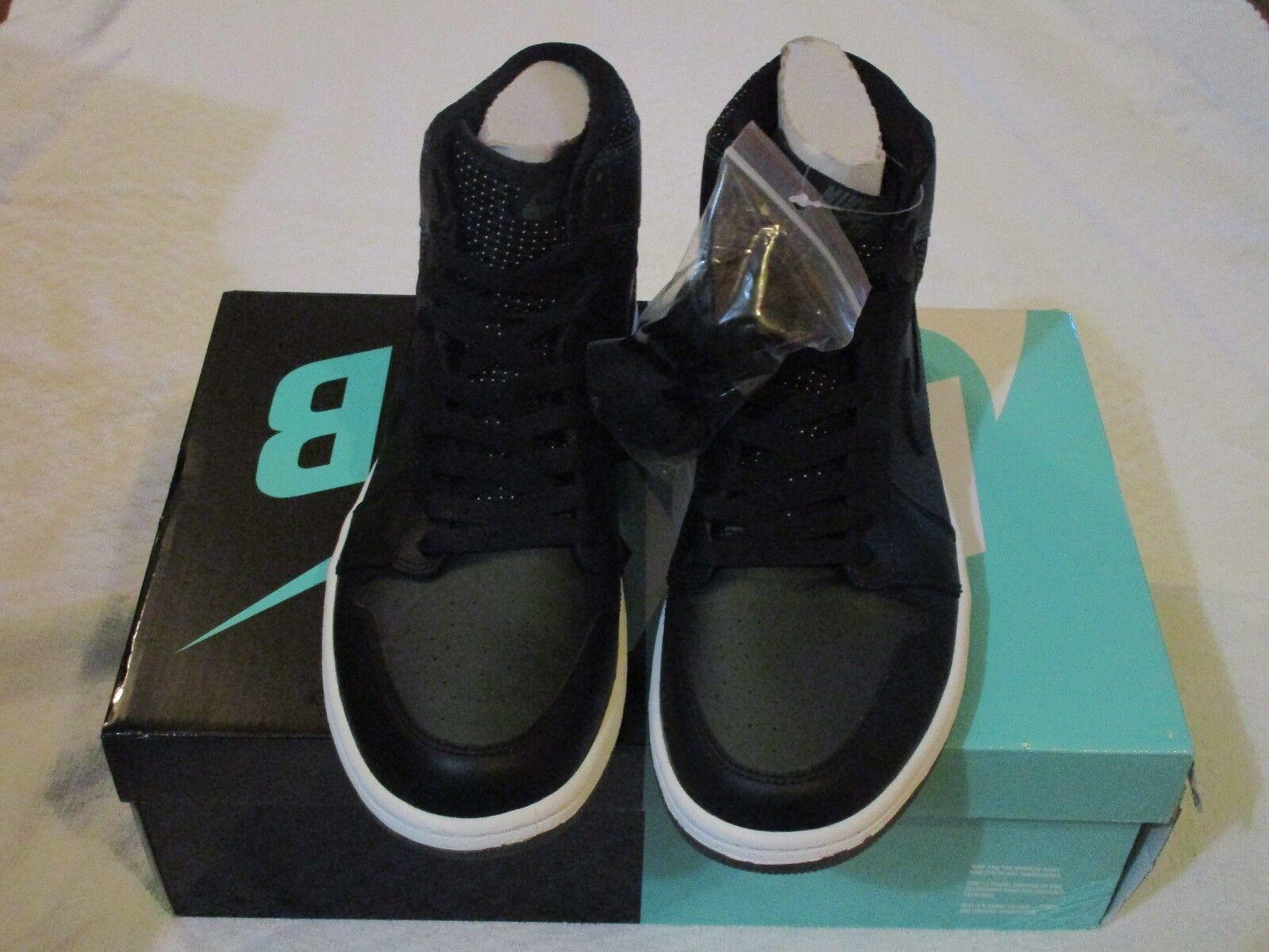 Nike Jordan 1 SB QS Black Silver Craig Stecyk 653532 001 Size 11 Sneakers