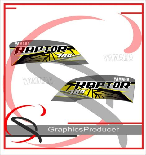 Yamaha Raptor 700 SE Replica Decals Grey Model 2019 Graphics Kit Stickers  Set