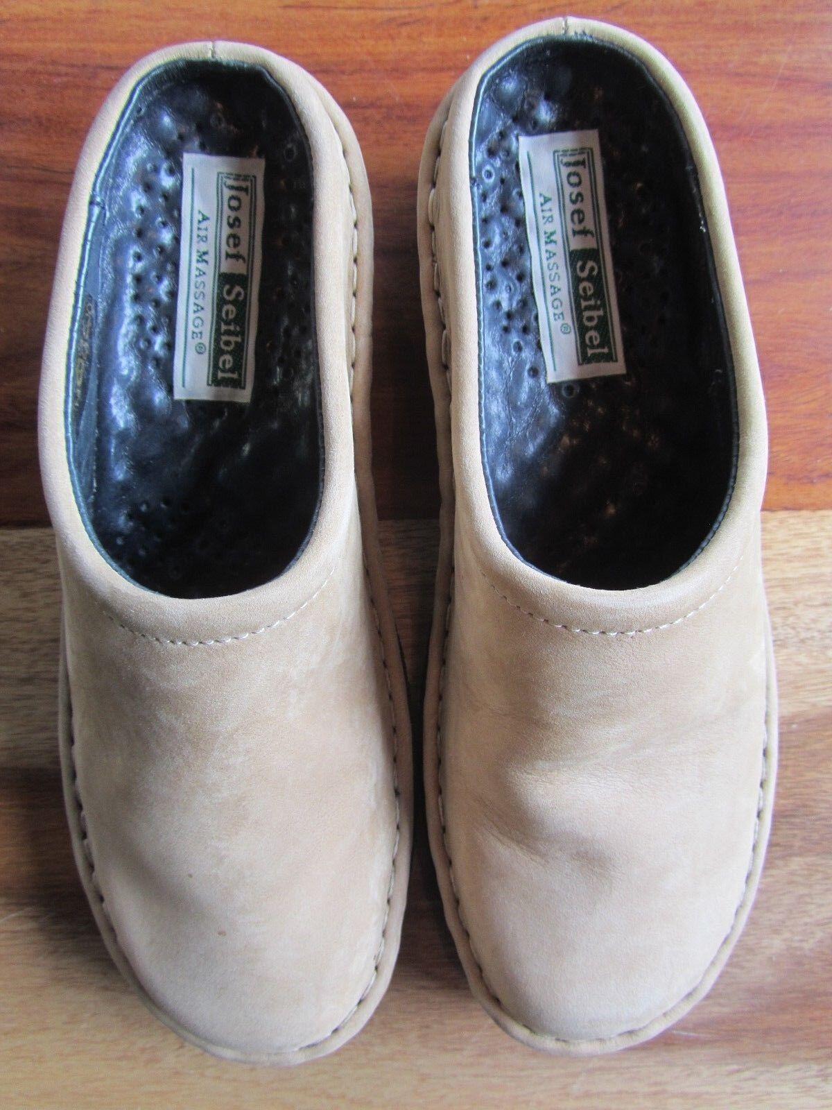 GORGEOUS GORGEOUS GORGEOUS JOSEF SEIBEL AIR MASSAGE Schuhe SIZE 36 SAND 20mm HEEL 89db0b