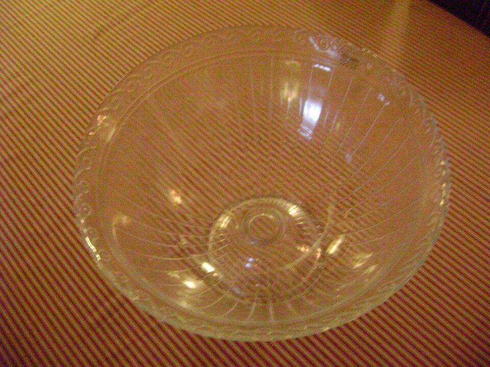 Glas, frugtskål, marividros