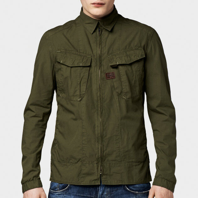 NWT G STAR RAW West Overshirt Sage Sz XL ( US Sz Large )