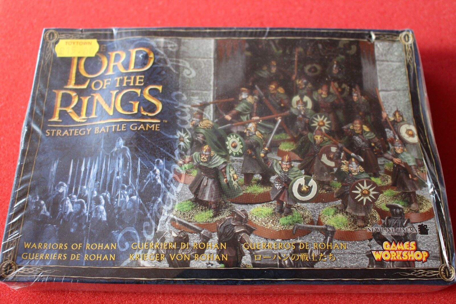 Games Workshop LoTR Lord of the Rings Warriors of Rohan 24 Models Box New Sealed