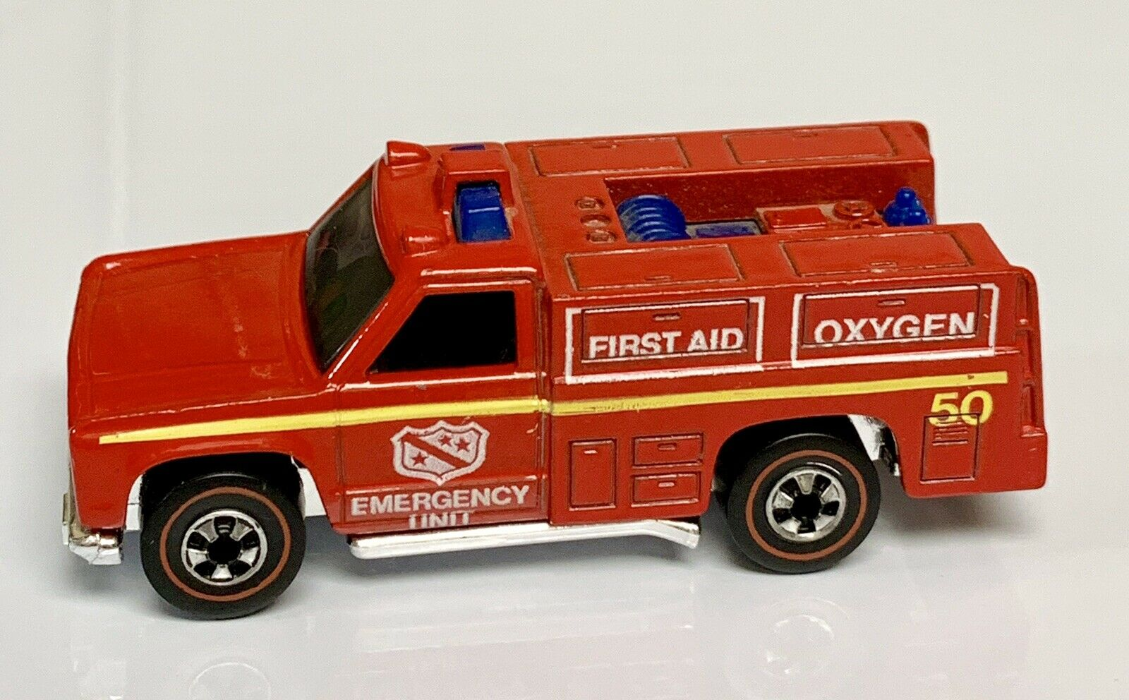 Hot Wheels Redline NM Emergency Fire Rescue Unit