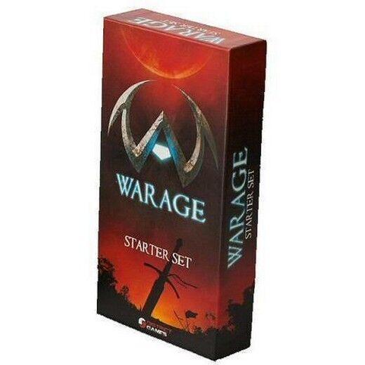 Warage, Starter Set - Game Cards Strategic - District, New, Italiano