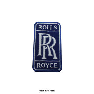 Rolls Royce Car Brand Racing Motor Sport Embroidered Patch Iron on Sew On Badge