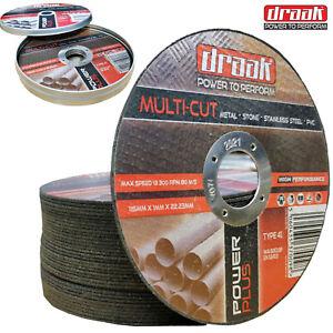 boite-de-10-draak-4-5-034-115mm-x-1mm-metallique-mince-pierre-acier-pvc-coupe-disque