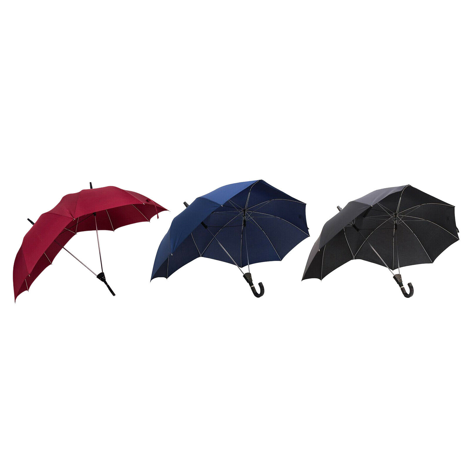Novelty Windproof Umbrella Anti-UV Sun Rain Two-People Couple's Travel Parasol