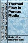 Thermal Flows in Porous Media by Dan Polisevski, H.I. Ene (Paperback, 2011)