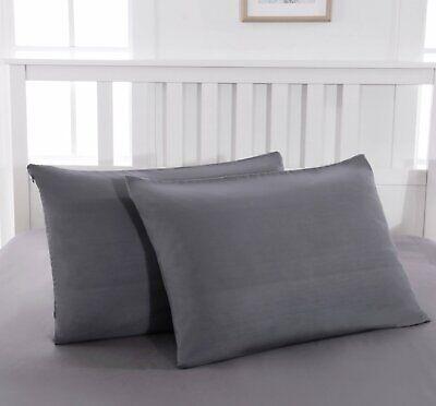 50 x 70 cm Blanc Soleil docre Prot/ège taie doreiller en Coton Molleton 50x70 cm
