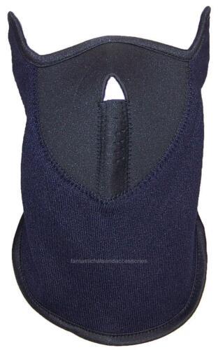 Best Winter Hats Fleece /& Neoprene Half Face Mask W//Hook/&Loop Closure #470 Navy