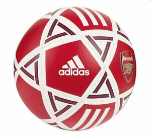 Intuición foro Allí  adidas Capitano 2019 - 2020 Soccer Ball Arsenal FC Edition White Red Size 5  | eBay