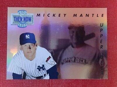 1993 Mickey Mantle Upper Deck Tn17 New York Yankees Hologram