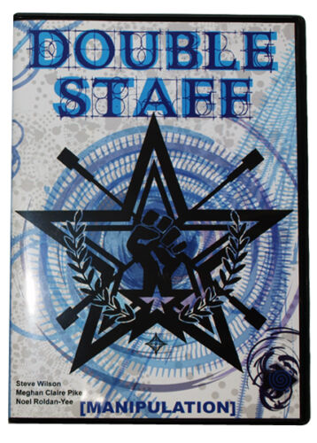 Instrucciones Libros /& Dvd/'s para el Arte de Staff Spinning Media