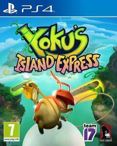 Yoku-039-s-Island-Exprimer-PS4-Neuf-Scelle-Yokus