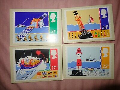 Set of 5 PHQ Stamp Postcards Set No.D28 1955 Castles Definitives 2005 IC5