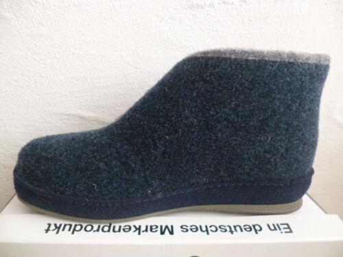 Schawos Damen Hausschuhe Pantoffel Hausschuh Pantoletten blau 2060 NEU!!