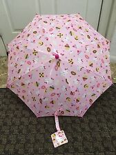New Hello Kitty Umbrella Sanrio Donuts Cupcakes Pink