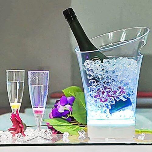 acrylique clair glace Chips Table Confetti Dispersion Mariage Vase entonnoir en vrac environ 4.54 kg 10 lb