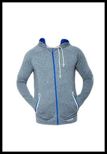 USN Training zip Hoody Grey Large (Gym workout fitness crossfit)