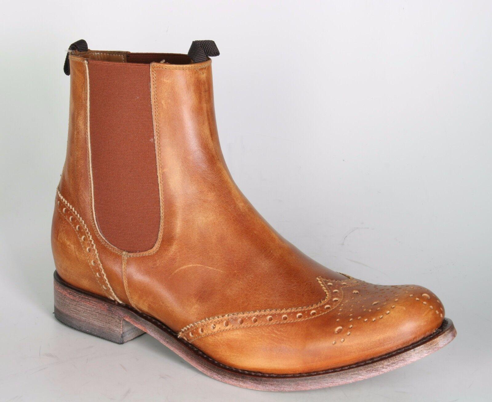 10049 Sendra Chelsea Boots Stiefeletten CITY Olimpia Siena Lavado 2