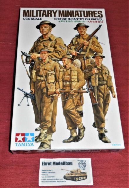 Tamiya 35223 1:35 Britische Infanterie auf Patrouille