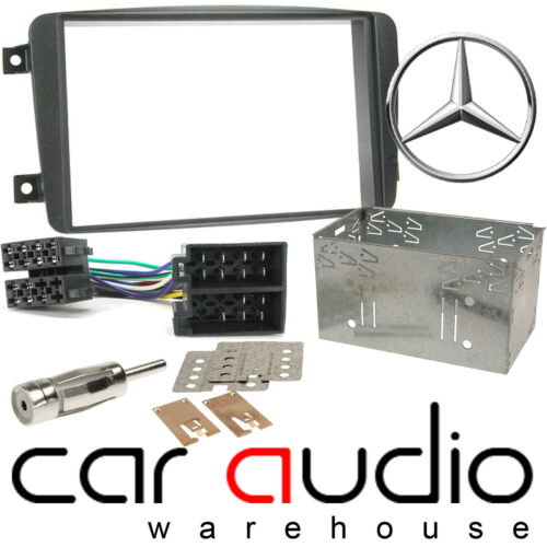 CT23MB02A Mercedes Benz VITO W639 2003-2006 Car Stereo Fascia ISO /& Cage Kit