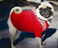 Dog Clothes Dog Hoodie Sweater Red - Xsmall