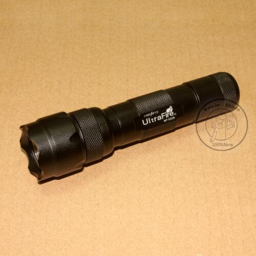 New UltraFire WF-502B CREE XM-L T6 LED 800 Lumens 1Mode Flashlight Torch