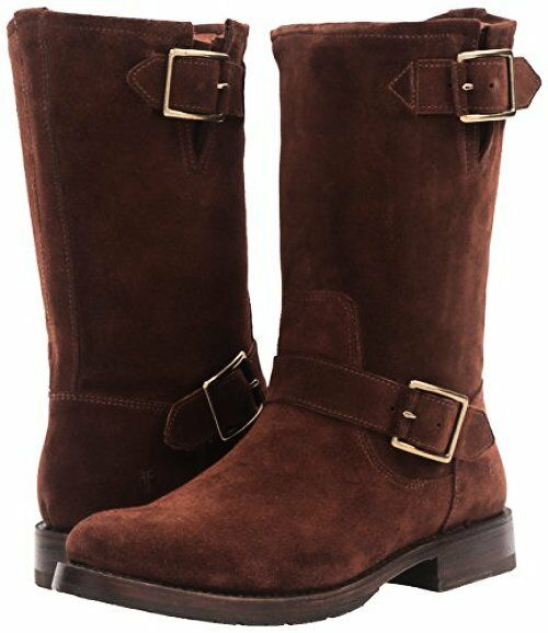 FRYE Damenschuhe Natalie Mid Suede Engineer Boot- Pick Pick Boot- SZ/Farbe. b95536