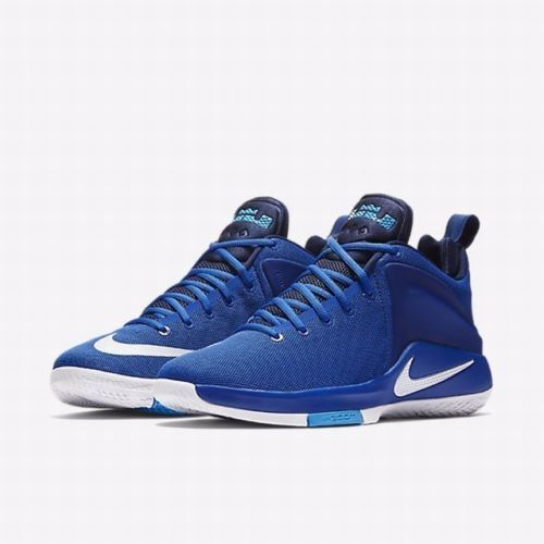 8ef6e82dd9f8 Nike Zoom Witness Lebron Basketball Shoes Mens 10 Game Royal Blue 852439  401 for sale online