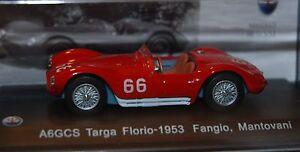 Maserati-A6GCS-Targa-Florio-1953-Fangio-Mantovan-1-43-Leo-Models-N-031