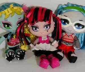 Monster-High-Plush-Dolls-10-039-Lot-3