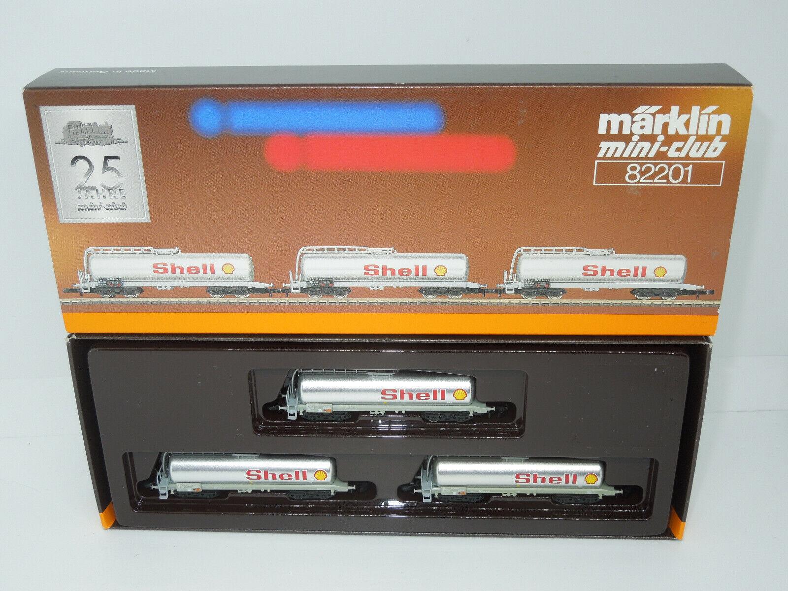 Dettagli su Märklin mini-club 82201 SBB provetto Wagenset Shell - 3 pezzi (2)