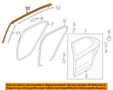 KIA OEM 06-10 Optima Rear Window//Door-Belt Molding Weatherstrip Left 832102G000