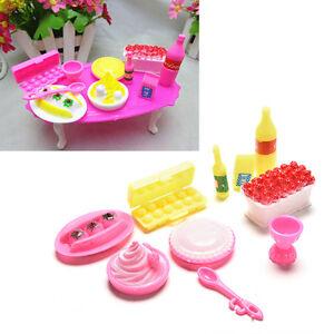 10-Pcs-set-Birthday-Cake-Dinner-for-s-Kids-Dollhouse-Furniture-Supplies-FB