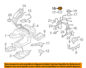 Details about VW VOLKSWAGEN OEM 08-10 Touareg 3 6L-Fuel Pump Assembly  Flange Right 7L6919679E