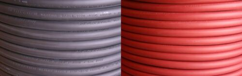 Welding//Battery Cable #6 Gauge AWG 100 FEET OF EACH COLOR Black /& Red -