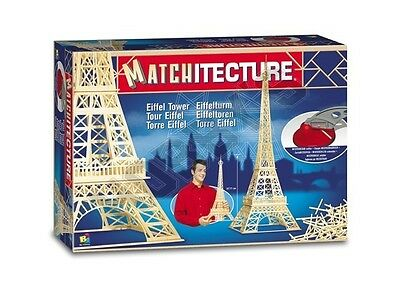 Eiffel Tower matchstick model craft Construction Kit Matchitecture NEW