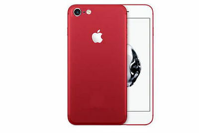 Apple iPhone 6 / 6S Red Special Edition Product RED Converter Skin Front & Back
