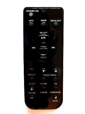 Genuine Logik LHFDAB14 Traditional Hi-Fi System Remote Control ONLY!!